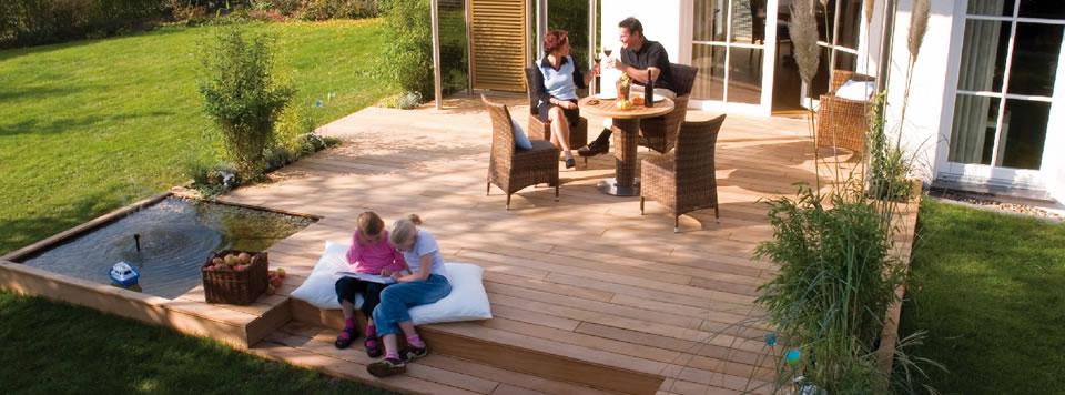 holz f r boden terrasse garten holzhandlung wilhemi. Black Bedroom Furniture Sets. Home Design Ideas